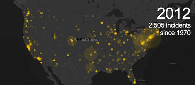 Terroranschläge in den USA, Guardian Datablog