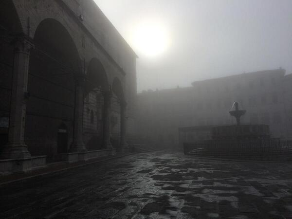Early morning in Perugia